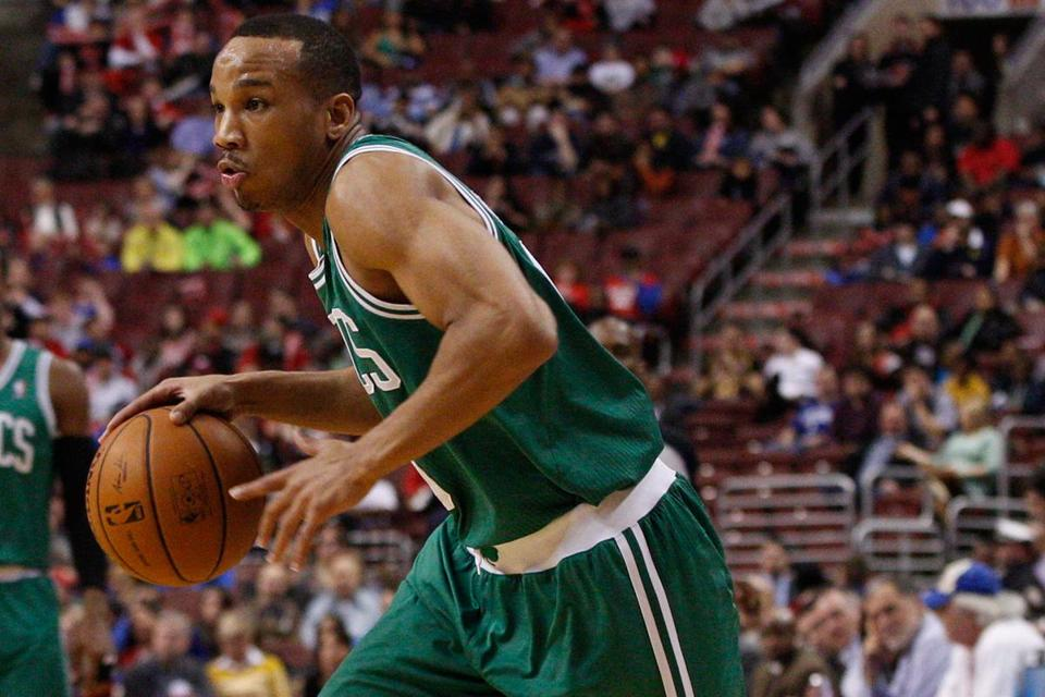 Avery Bradley will undergo an MRI on Tuesday to determine the damage to the ankle.
