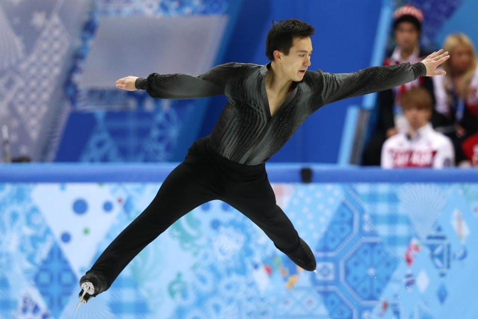 Patrick Chan already has a silver medal from the team skating event, and now he will look to add the men's gold/ ADRIAN DENNISADRIAN DENNIS/AFP/Getty Images