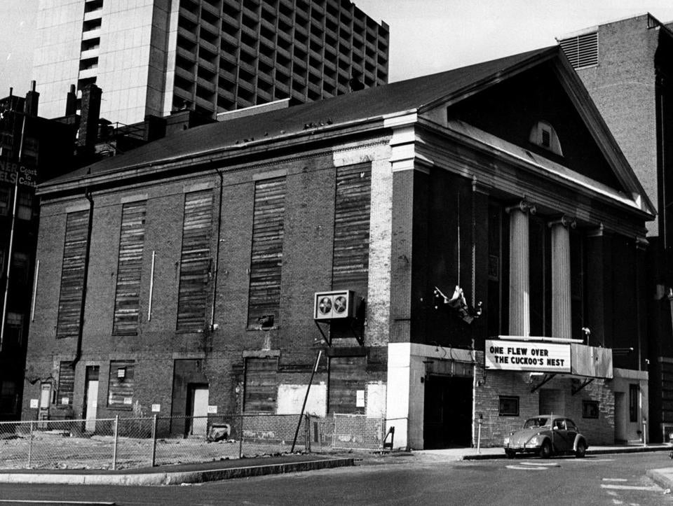 The Charles Playhouse in 1973.
