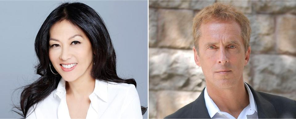 Coauthors Amy Chua and husband Jed Rubenfeld are both Yale law professors.