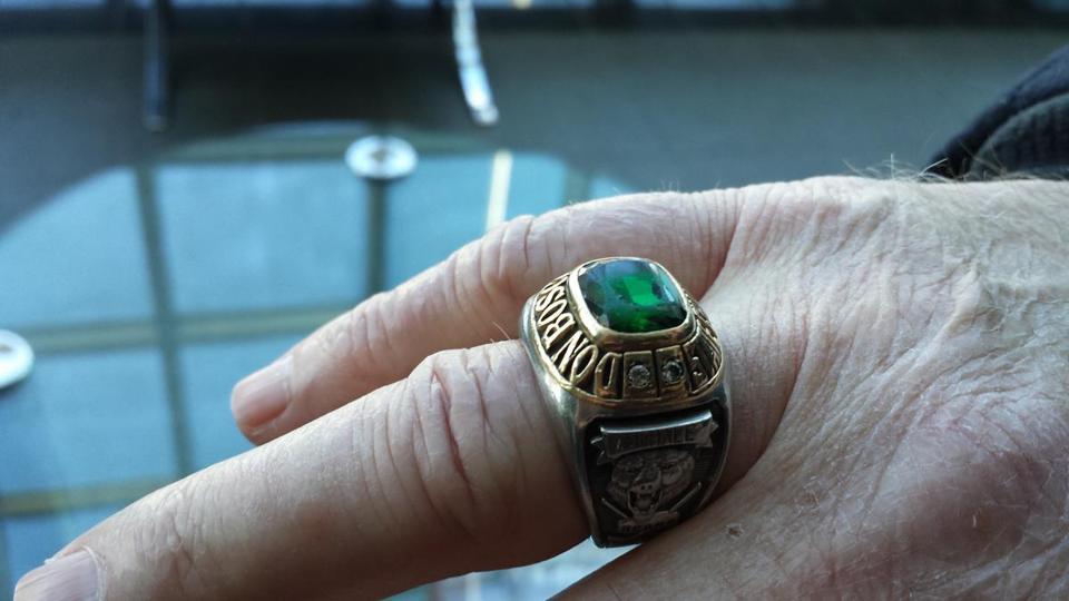 Mark McHale's   championship ring was stolen.