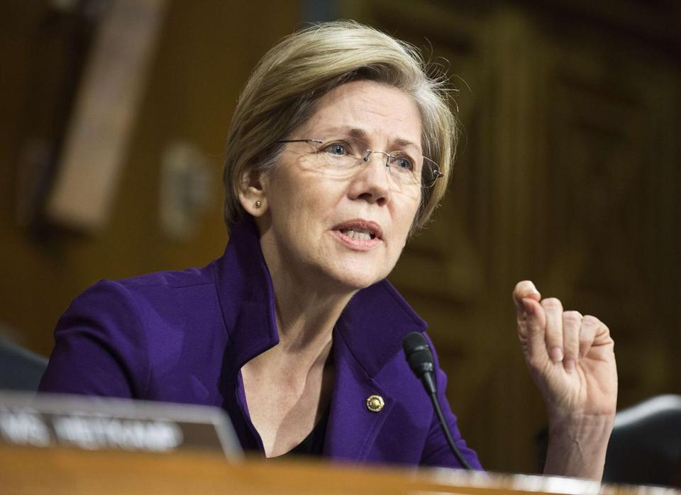 """The question is: Is it possible to design something and give people access to small-dollar loans without getting them ensnared in the trap of payday lending?"" asked Senator Elizabeth Warren."