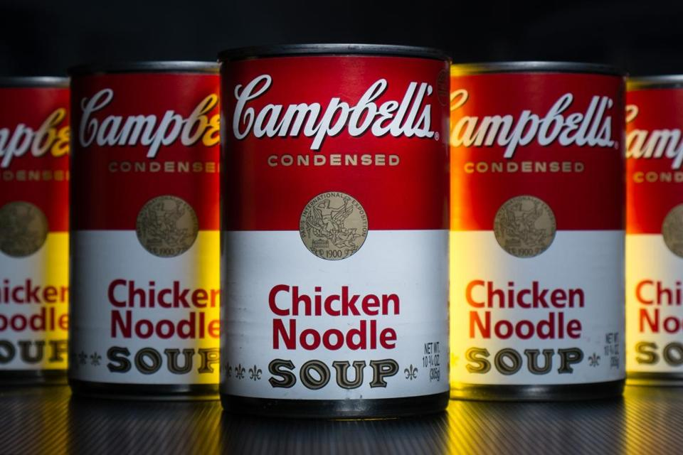 The soup maker said simple meal sales rose 7 percent.