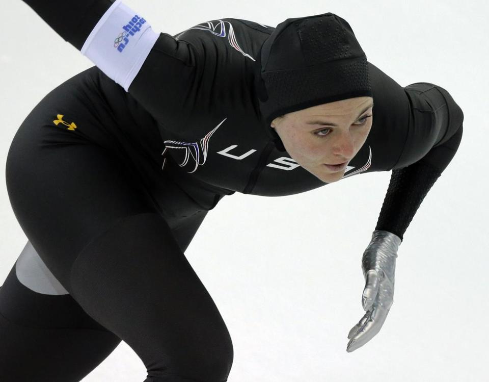 The technologically advanced US speedskating suits have not helped Heather Richardson and teammates.
