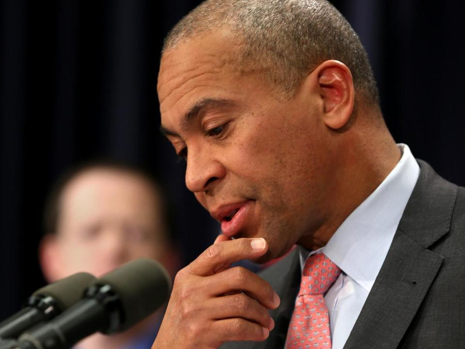 Governor Deval Patrick said he meets with his Cabinet members weekly, and now daily with the heads of the health connector website and the Department of Children and Families.