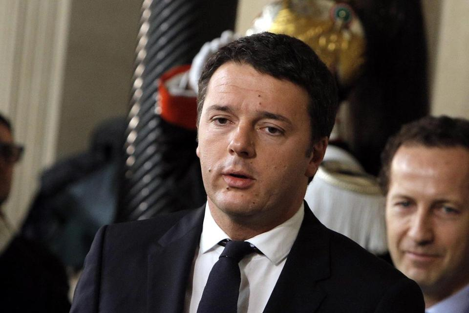 Matteo Renzi ousted Enrico Letta as leader.