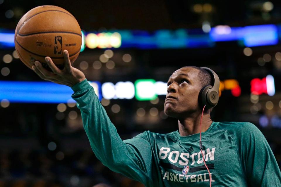 "There may be a Celtic moved at the trade deadline but it won't be Rajon Rondo. ""He's going nowhere,"" Danny Ainge said recently."