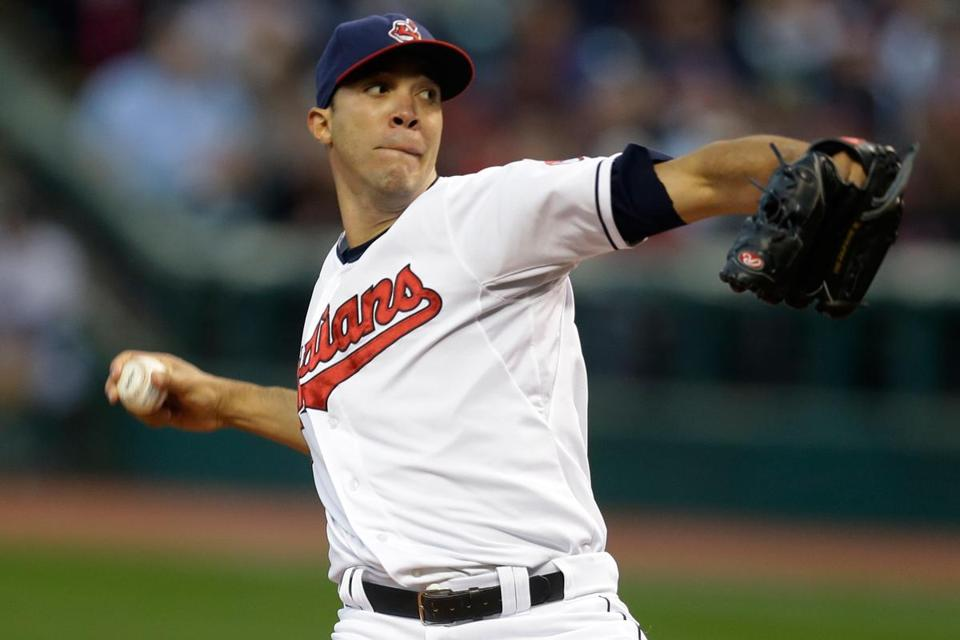 Ubaldo Jimenez righted himself over the second half of last season with the Indians.