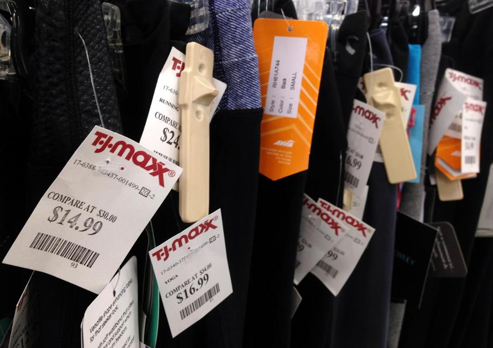 Same-store sales rose 3 percent over last year at TJX, the owner of the T.J. Maxx chain.