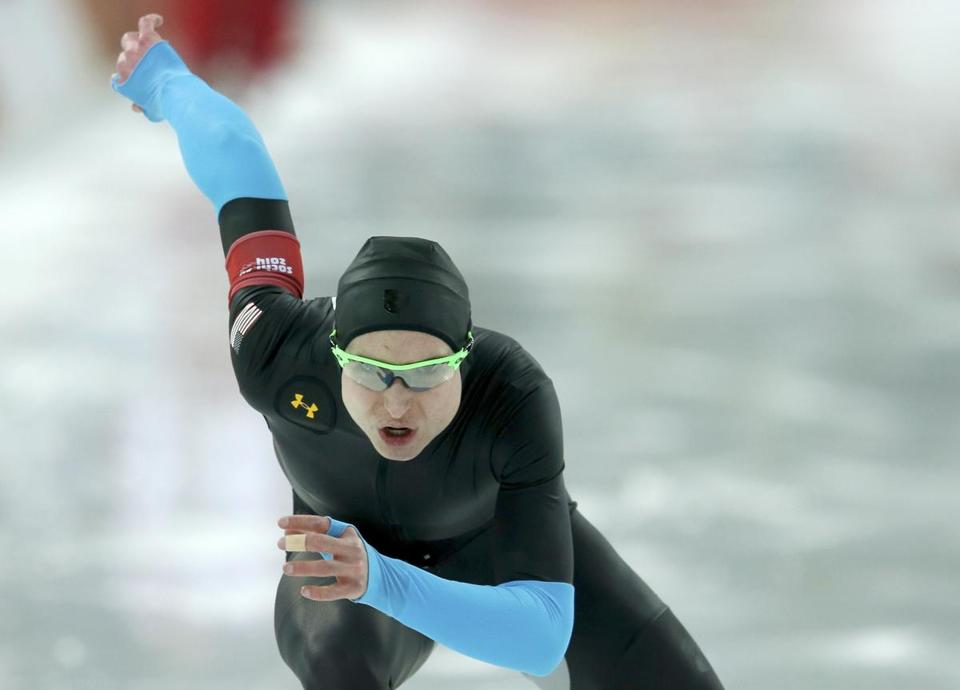 Some speed skaters blamed new suits for their results.