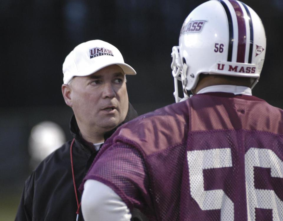 UMass football coach Mark Whipple, in his second stint in Amherst, knows what it's like to walk into a losing situation.