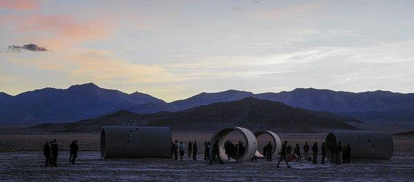 Over the years, the Sun Tunnels have attracted pilgrims such as art lovers, latter-day pagans, and target-shooting hunters.