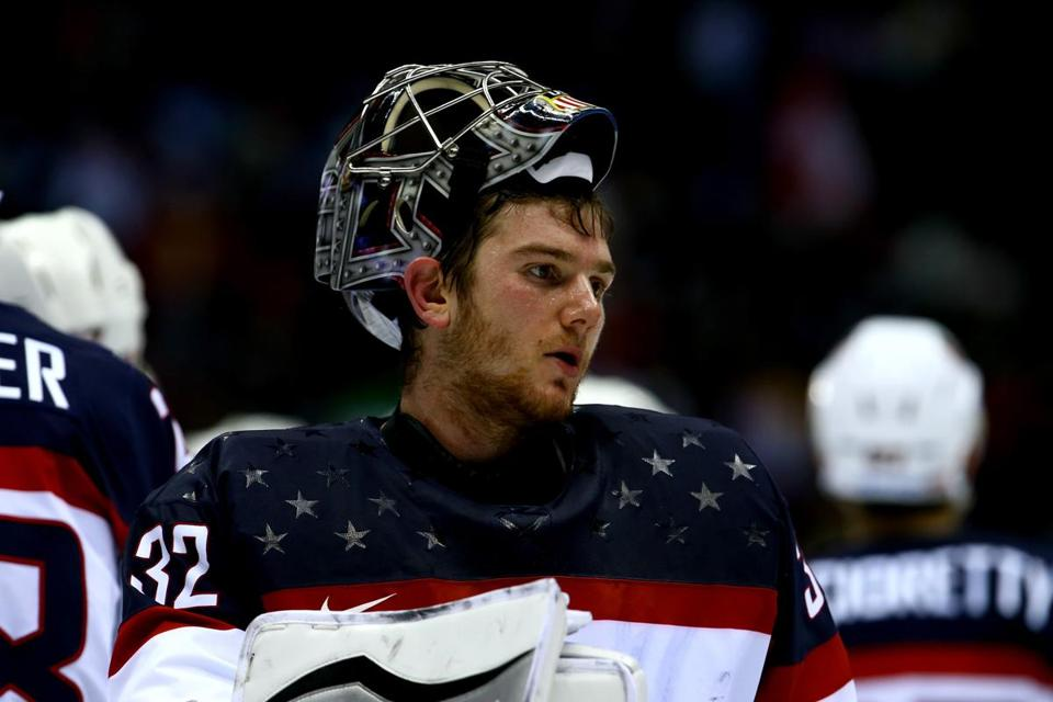 Jonathan Quick's 36 saves couldn't prevent the Americans' 1-0 loss.