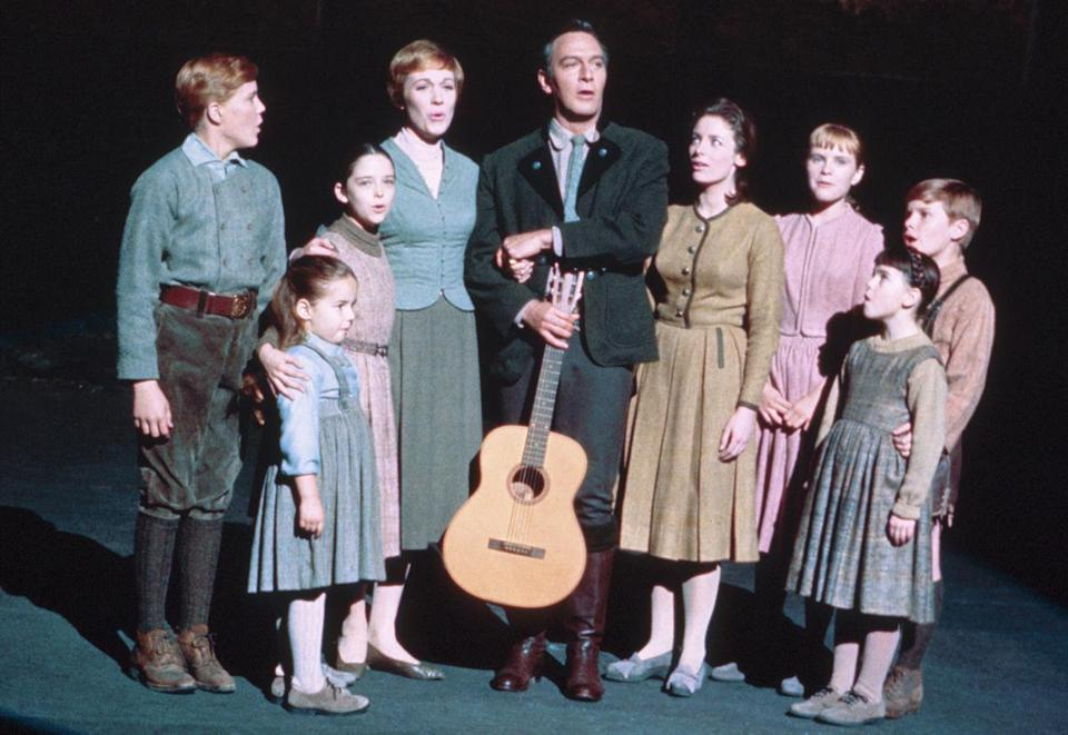 "Maria von Trapp was portrayed in the ""Sound of Music"" movie by Heather Menzies, third from right. Her character was renamed Louisa for the film and made younger."