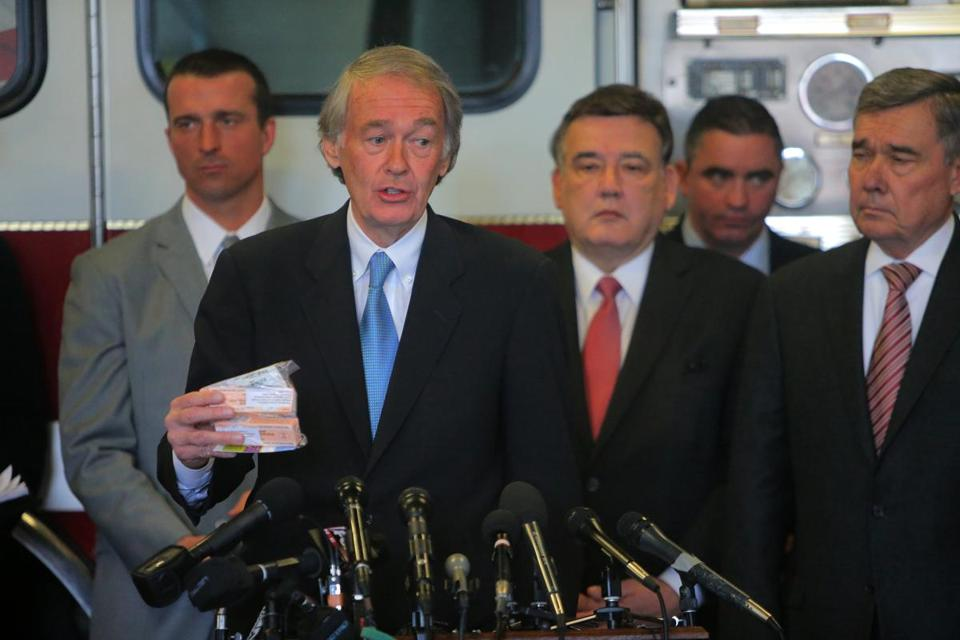 "US Senator Edward J. Markey called the increase in opiate drug deaths ""a scourge like we have never seen before."""