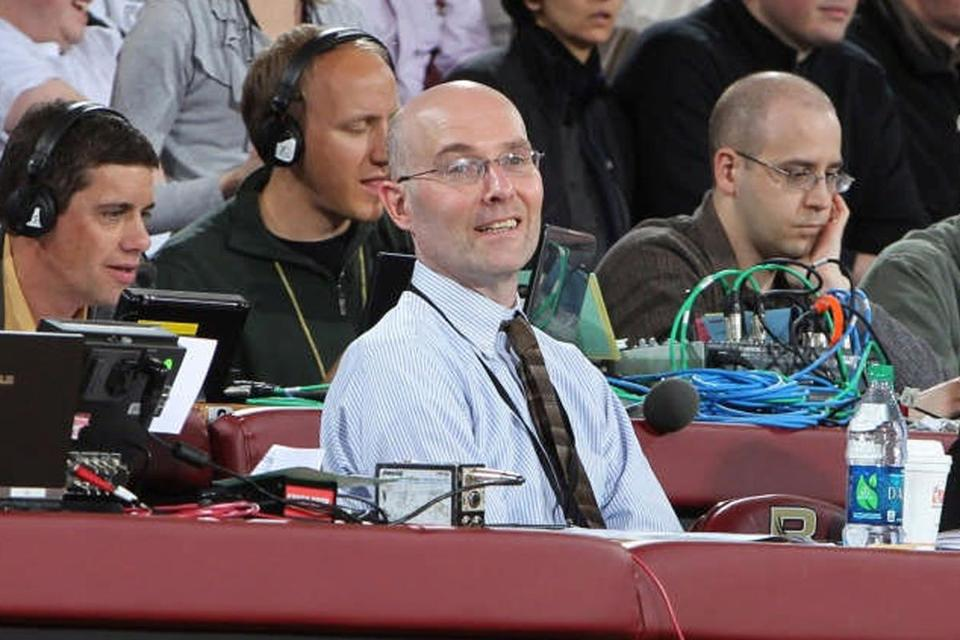 Mr. Kelley was BC's primary media contact for men's basketball, and the secondary contact for men's hockey and soccer.