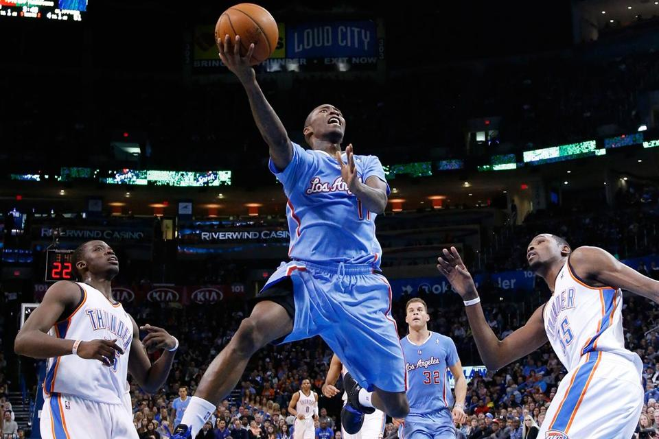 The streaky Jamal Crawford was feeling it against Oklahoma City, pouring in 36 points for the Clippers.