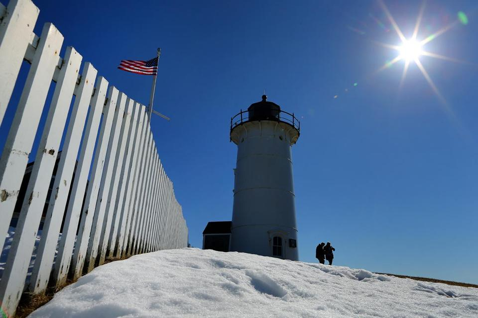 A classic New England lighthouse, Nobska Point Light draws visitors from near and far.