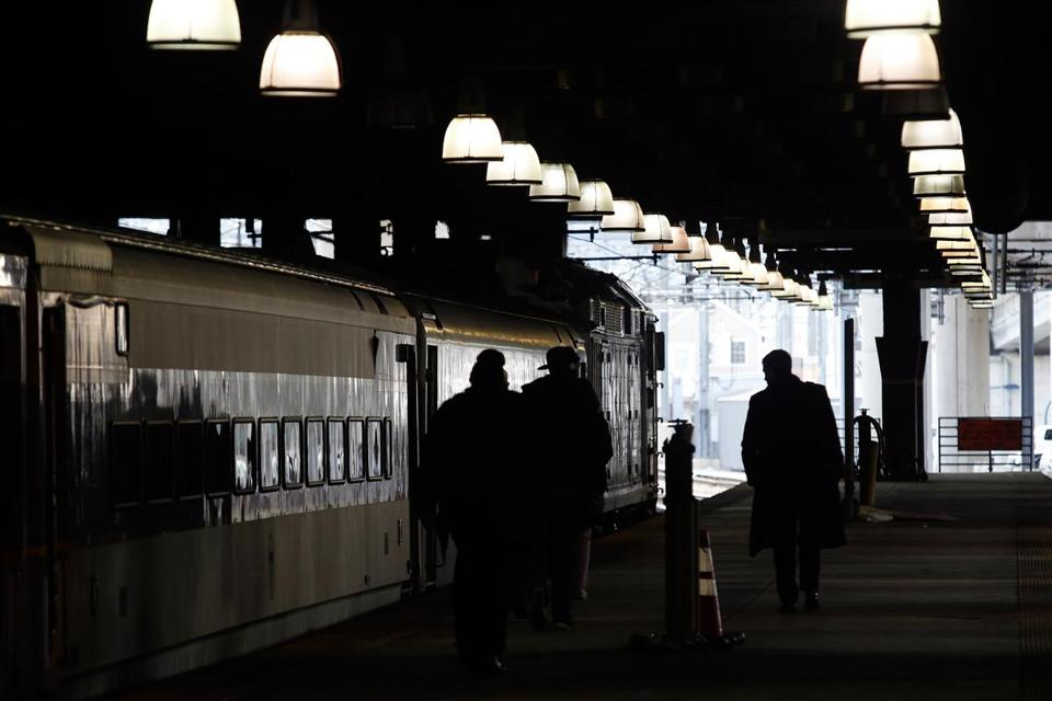 Riders' attitudes toward immigration changed after immigrants appeared at several MBTA commuter rail stations.
