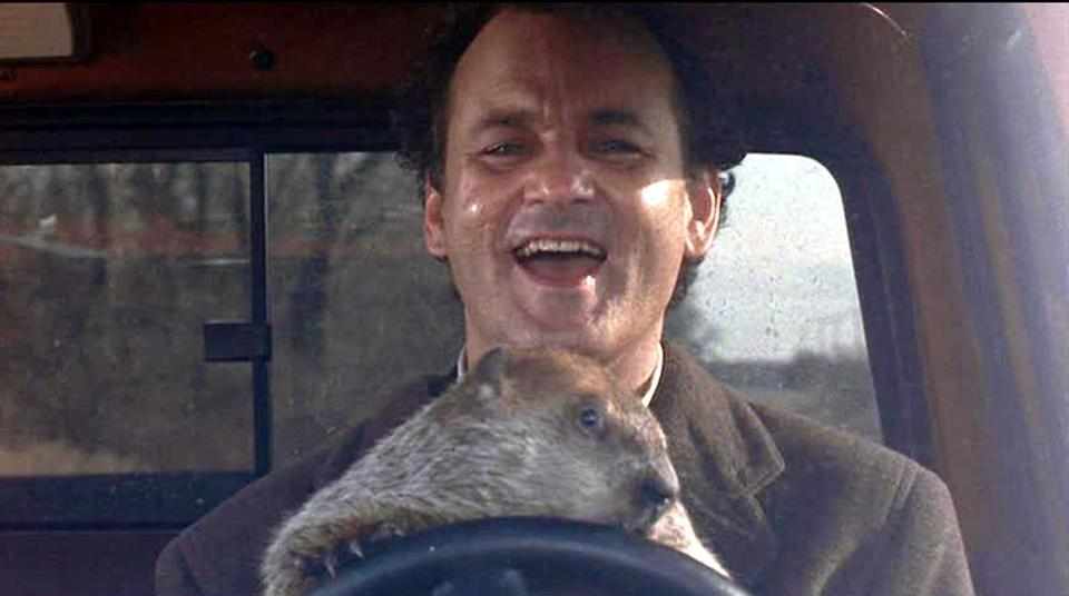 "Bill Murray starred in ""Groundhog Day,"" a profound philosophy of romance."
