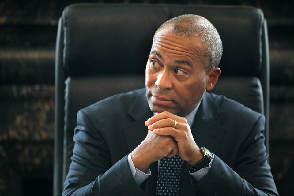 "Governor Patrick said ""one guy"" was behind the Keolis ""invoice."""