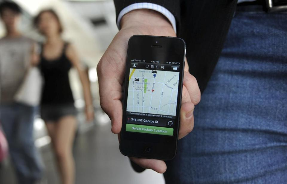 Uber, which links customers and drivers via a smartphone app, has been available in Boston since 2011. Critics call for more oversight.