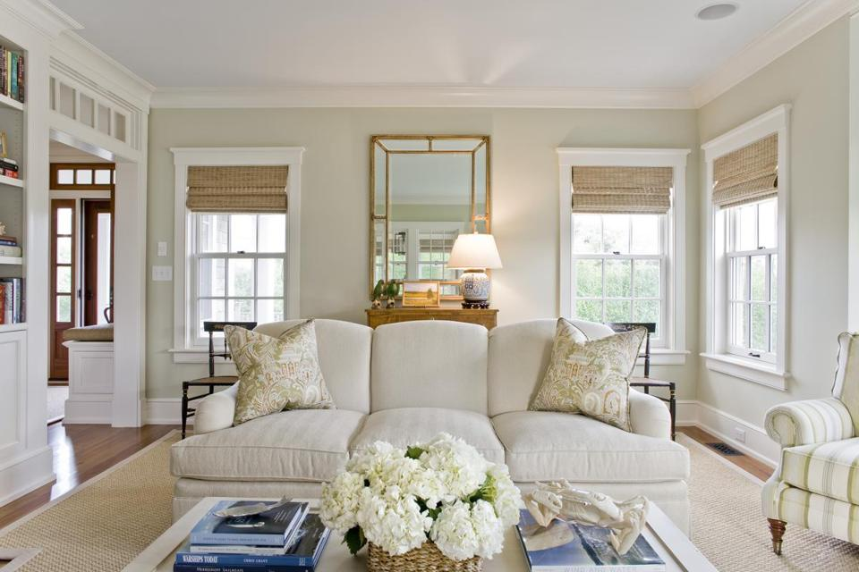 High Quality For The Family Room Walls, The Designers Selected A Benjamin Moore Paint  Color Coincidentally Named