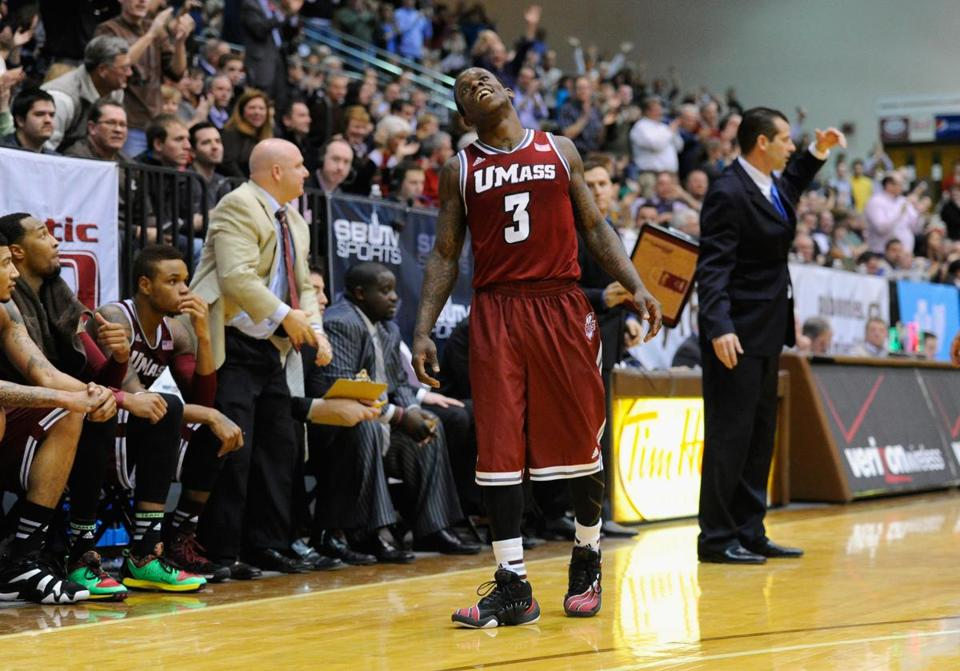 UMass guard Chaz Williams wanted to do more than lead the Minutemen to the NCAA tournament this year; he also wanted to become the first male in the family to graduate from college.