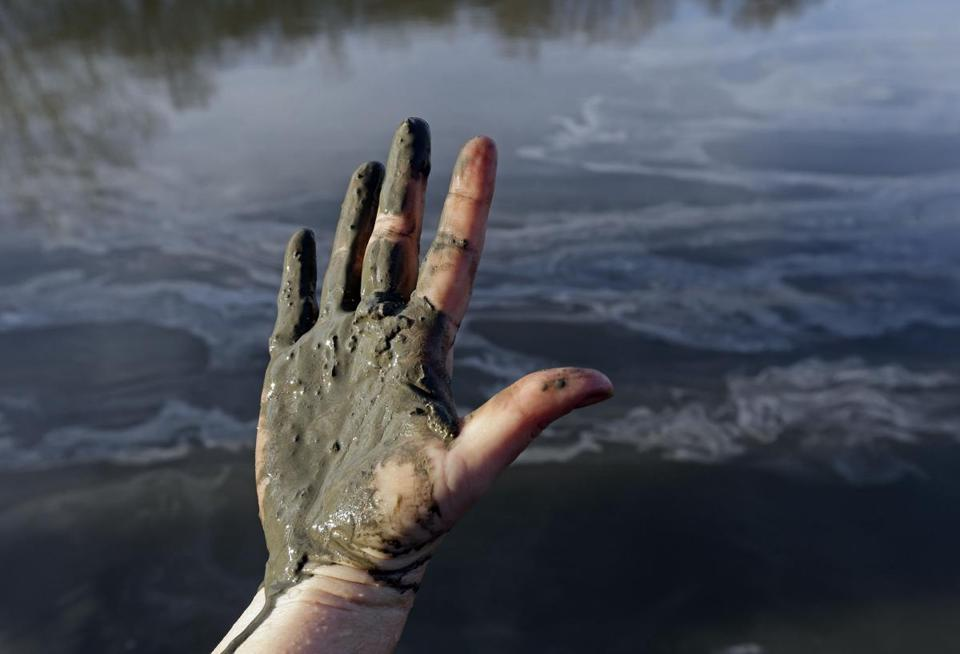Tons of toxic coal ash contaminated 70 miles of the Dan River in North Carolina last month.