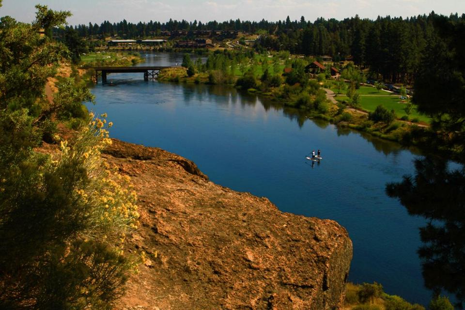 Deschutes Brewery, named after the river the runs through Bend, started in 1988 and is now the fifth-largest US craft brewer.