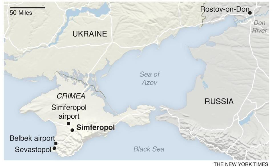 Crimea A guide to the volatile region The Boston Globe