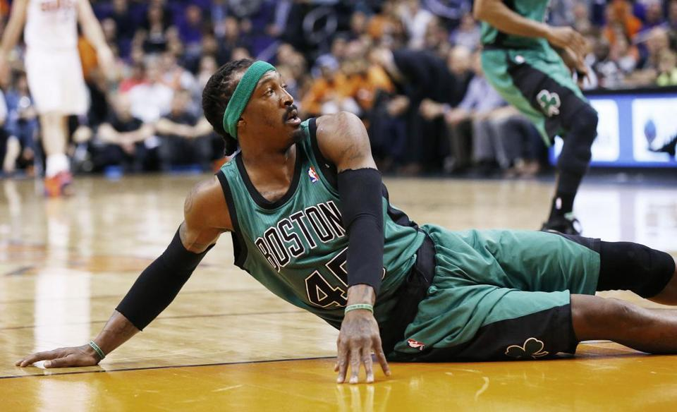 Gerald Wallace will miss the rest of the season with knee and ankle injuries.
