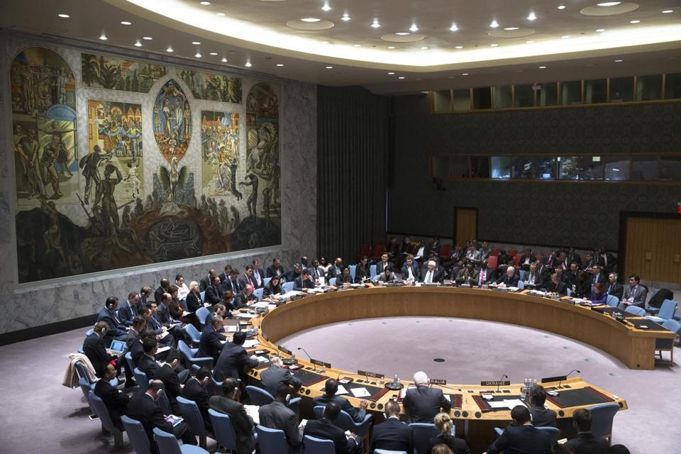 The UN Security Council held an open meeting to discuss the crisis in Ukraine.