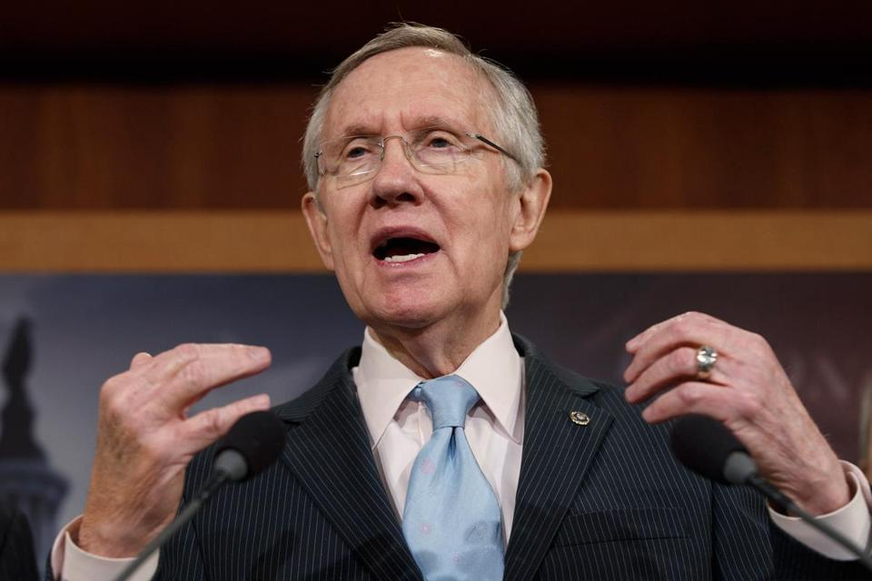 Senate majority leader Harry Reid has pledged to allot time to anyone who wants to discuss climate change at party lunches or on the Senate floor.
