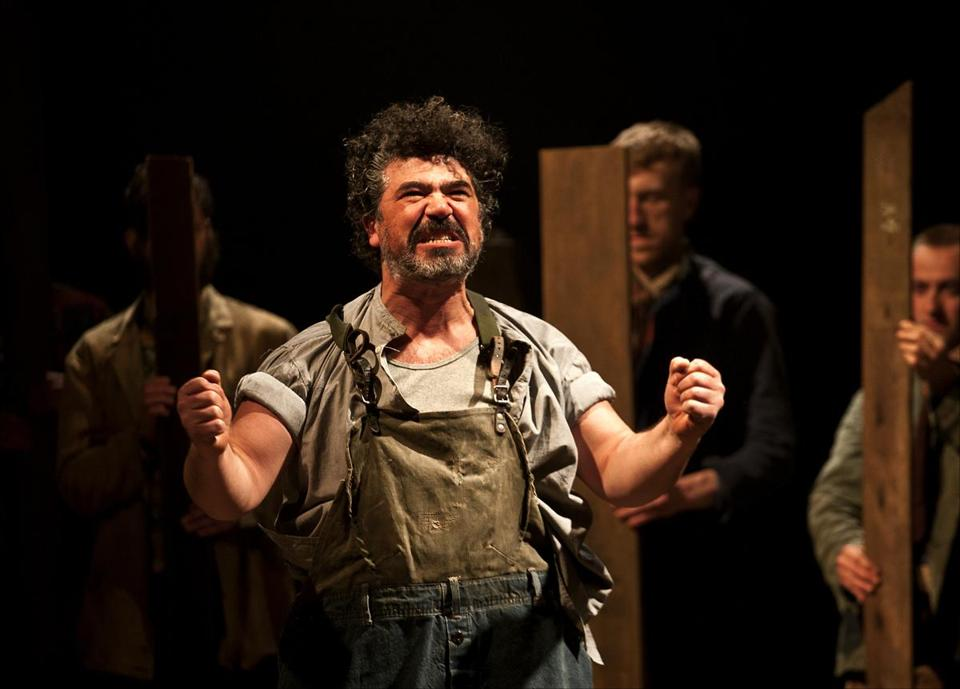 "Miltos Yerolemou in ArtsEmerson's presentation of Bristol Old Vic's ""A Midsummer Night's Dream."""