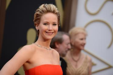 Jennifer Lawrence at the Oscars in March.