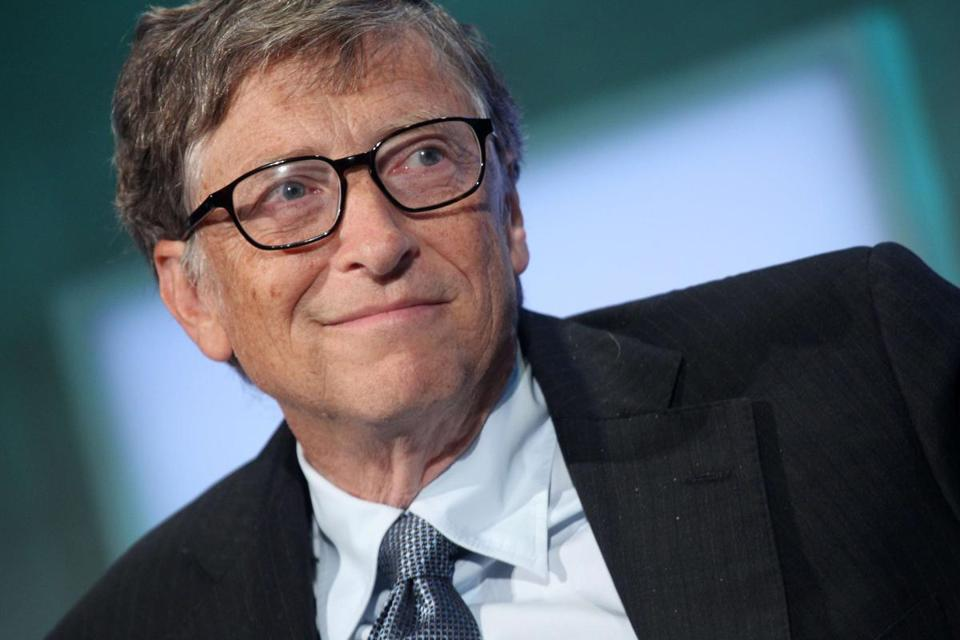 Bill Gates's net worth is estimated at $76 billion.