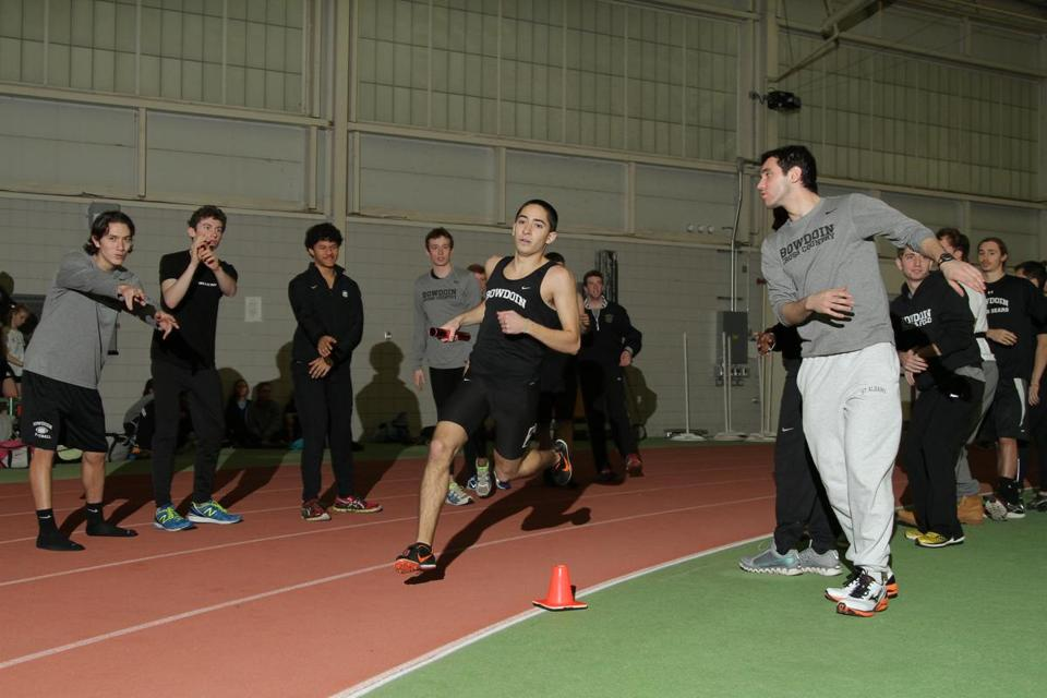 Coby Horowitz, a 21-year-old senior at Bowdoin College, ran the fastest mile race in NCAA Division 3 history.