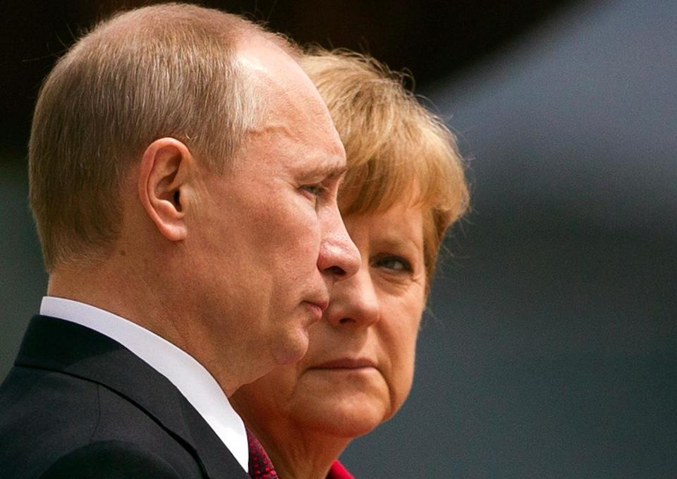 Angela Merkel, a champion of closer ties between Ukraine and the European Union, has shown a willingness to take a hard line with Vladimir Putin.