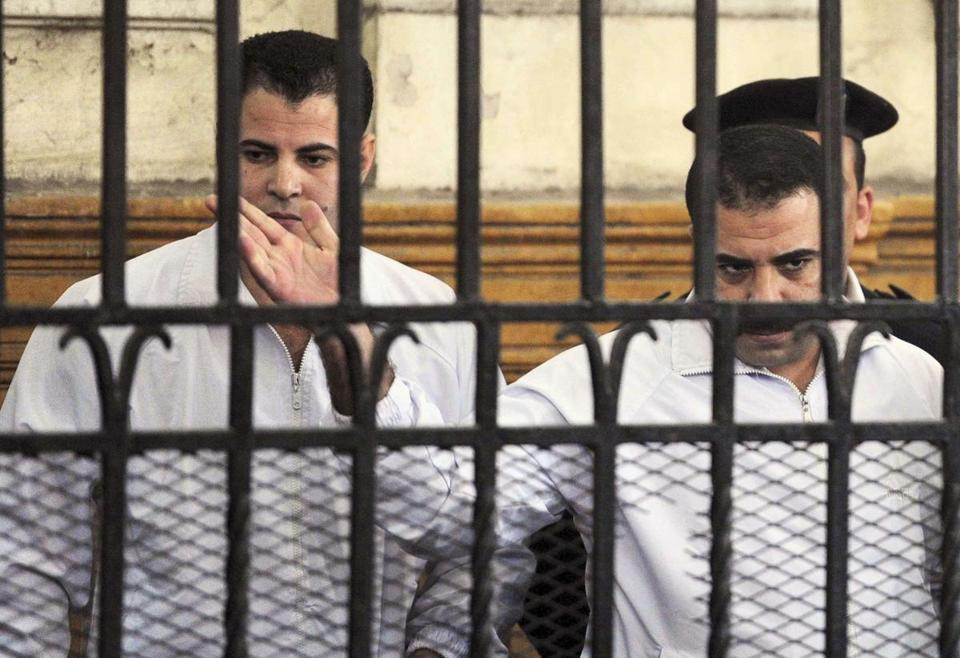 Mahmoud Salah and Awad Suliman were convicted in a death that helped spark a revolution.