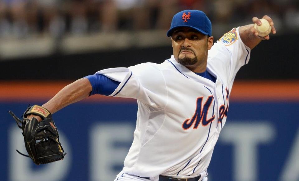 Johan Santana, 34, became a free agent after completing a $137.5 million, six-year contract with the New York Mets.