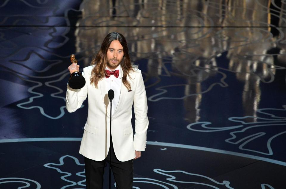 "Jared Leto won an Oscar for his role as a transgender AIDS patient in ""Dallas Buyers Club."""