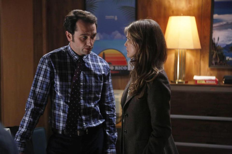 "Matthew Rhys and Keri Russell in the FX Cold War drama ""The Americans."""