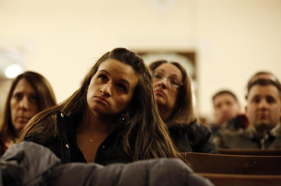 Bianca DiStefano of East Boston listened during a public safety hearing.