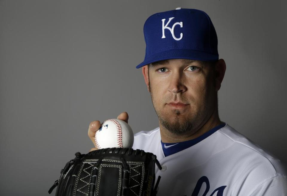 The Royals cut loose veteran Brad Penny on Friday.