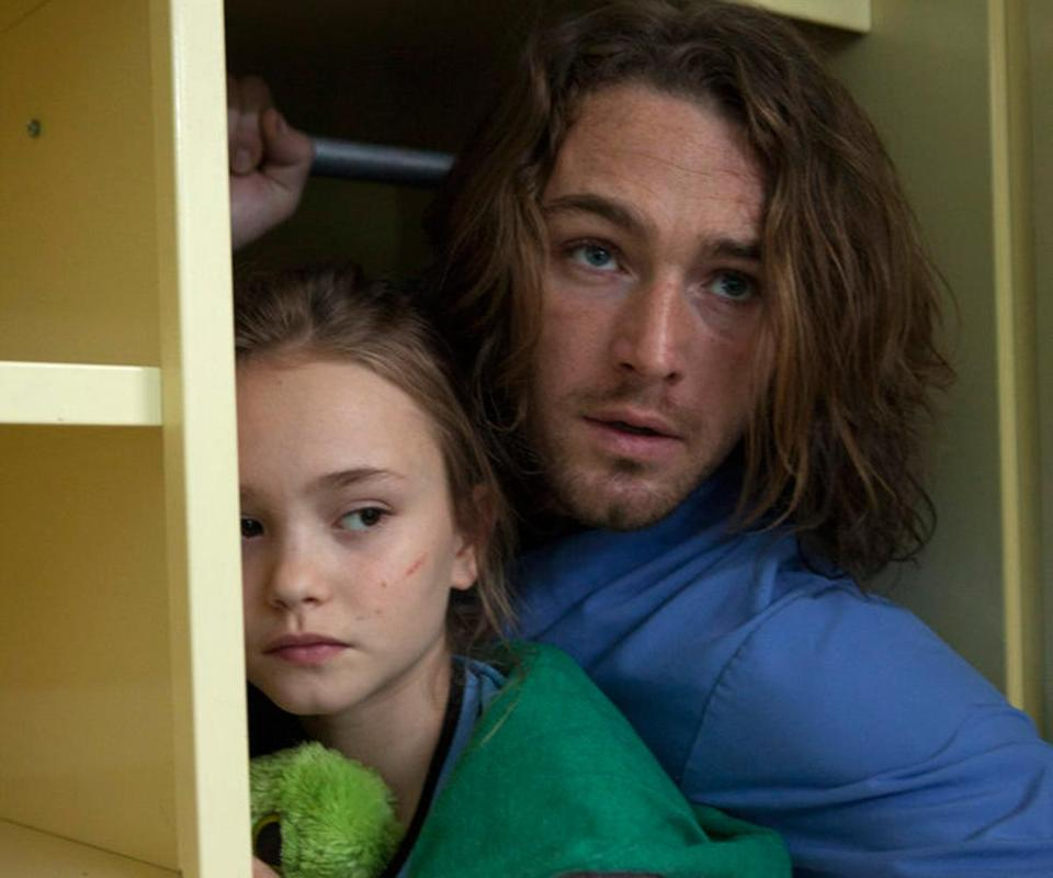 Johnny Sequoyah (with Jake McLaughlin) plays a girl with special powers.