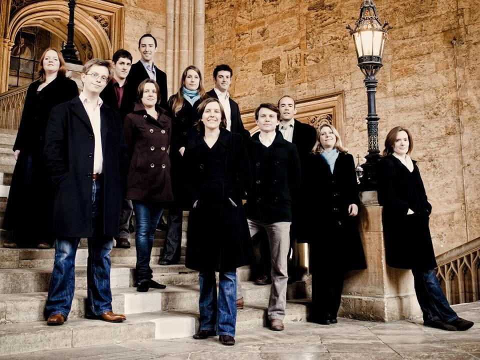 "Stile Antico's program was drawn from its latest album, ""The Phoenix Rising."""