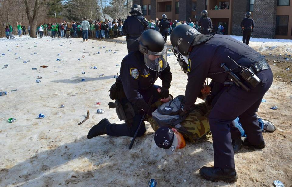 "The weekend melee that accompanied this year's pre-Saint Patrick's Day ""Blarney Blowout"" was an alcohol-fueled disaster for UMass Amherst's image."