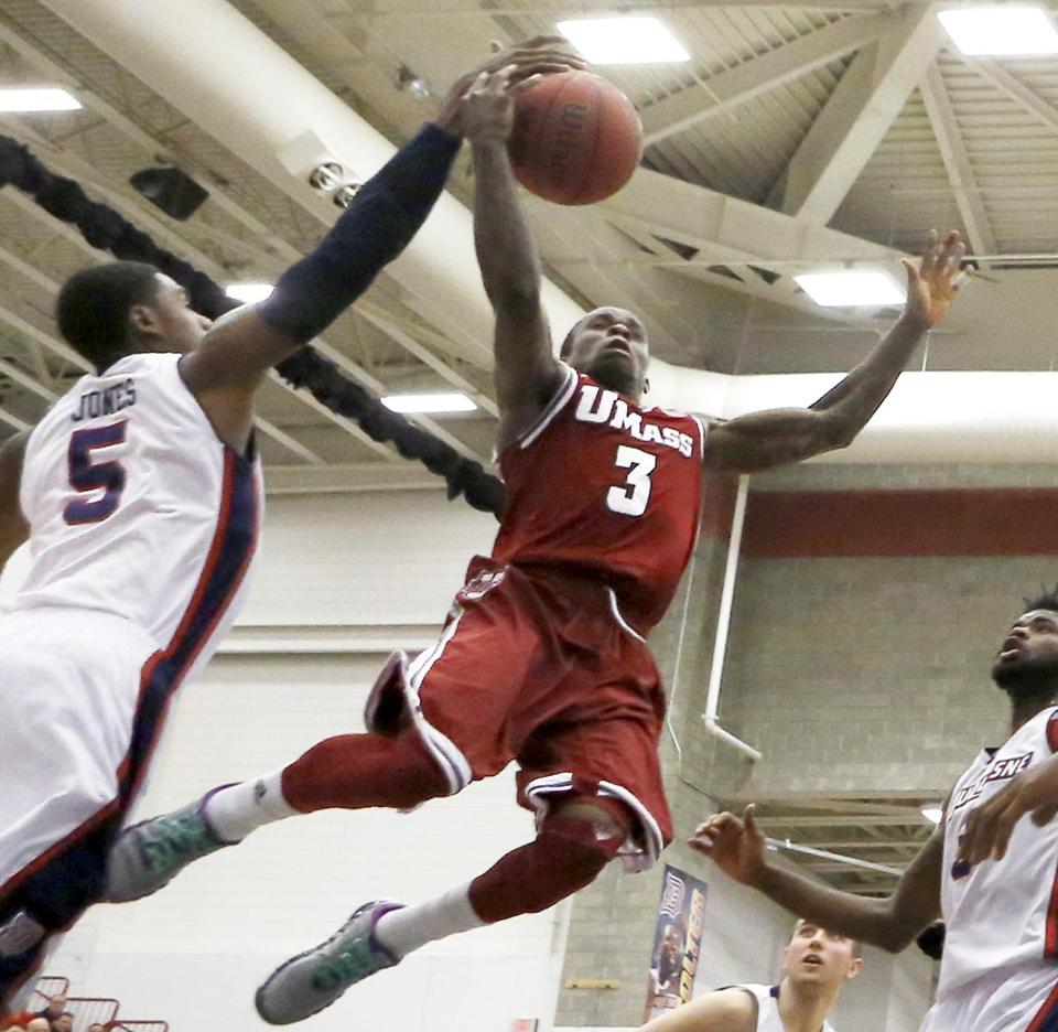 UMass guard Chaz Williams didn't have his eyes set on heading to Amherst when he decided to leave Hofstra, but the move has worked out.