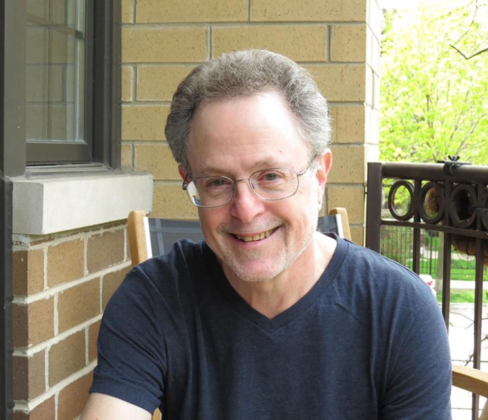 "Floyd Skloot, author of ""Revertigo."""